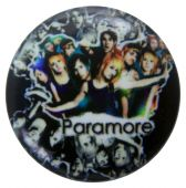 Paramore - 'Group Collage' Button Badge